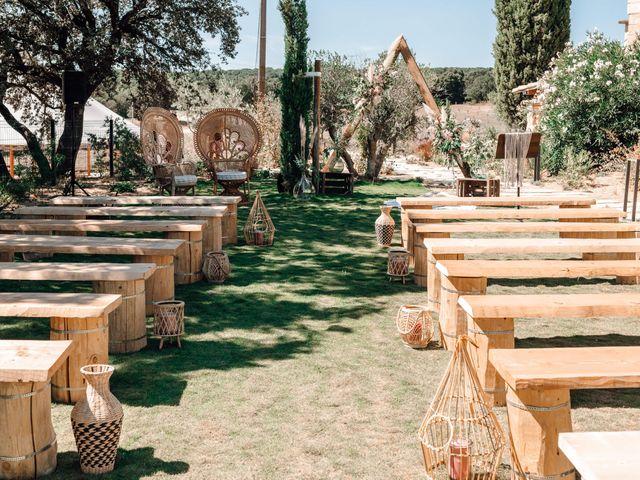 Le mariage de Thomas et Juliette à Rochefort-du-Gard, Gard 5