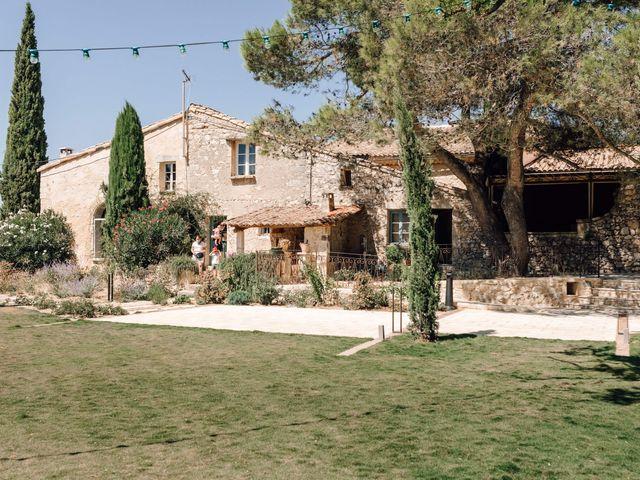 Le mariage de Thomas et Juliette à Rochefort-du-Gard, Gard 9