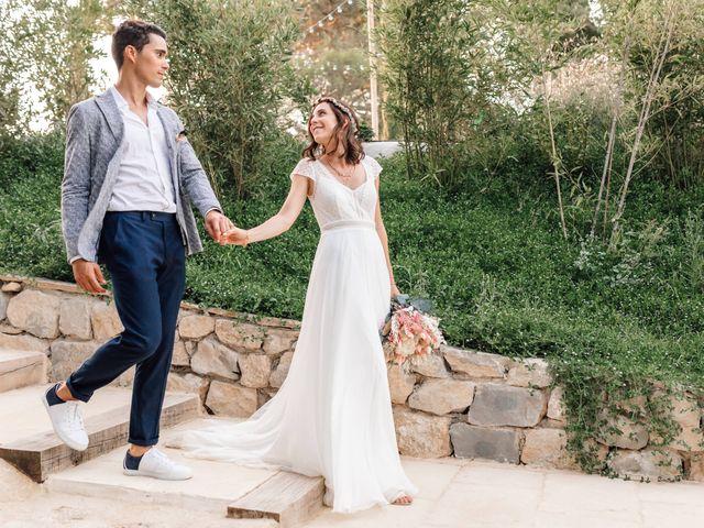Le mariage de Thomas et Juliette à Rochefort-du-Gard, Gard 11