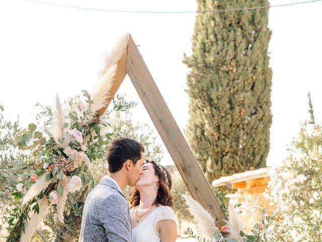 Le mariage de Thomas et Juliette à Rochefort-du-Gard, Gard 13