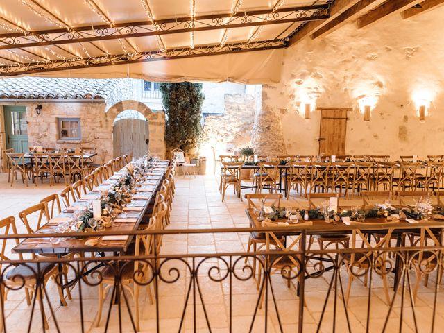 Le mariage de Thomas et Juliette à Rochefort-du-Gard, Gard 18