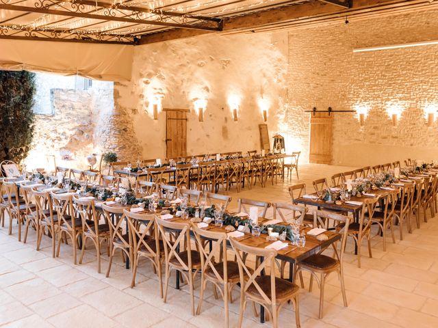 Le mariage de Thomas et Juliette à Rochefort-du-Gard, Gard 21