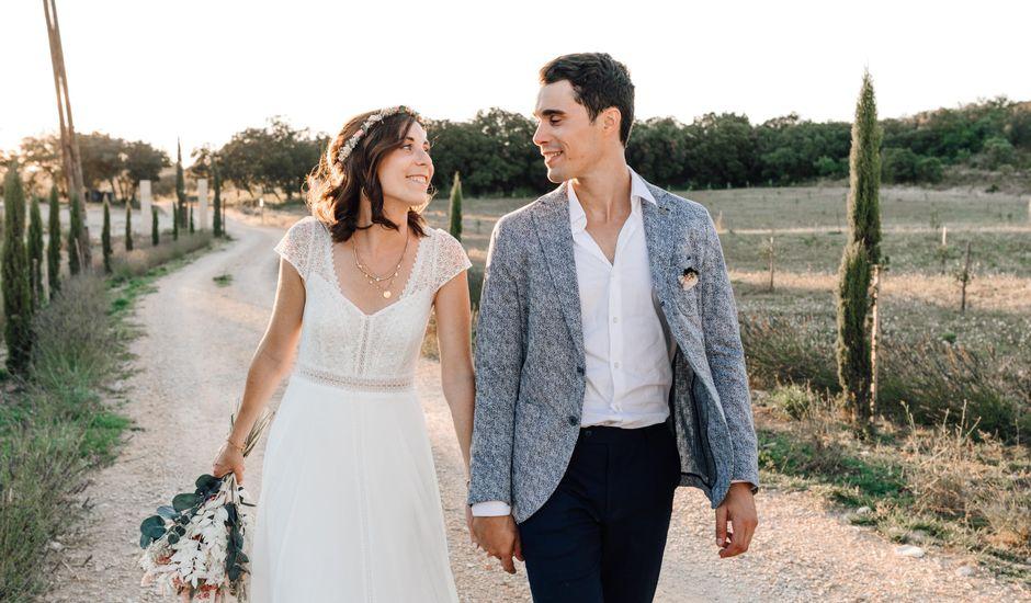Le mariage de Thomas et Juliette à Rochefort-du-Gard, Gard