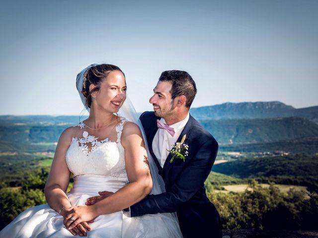 Le mariage de Romain et Elodie à Lodève, Hérault 12