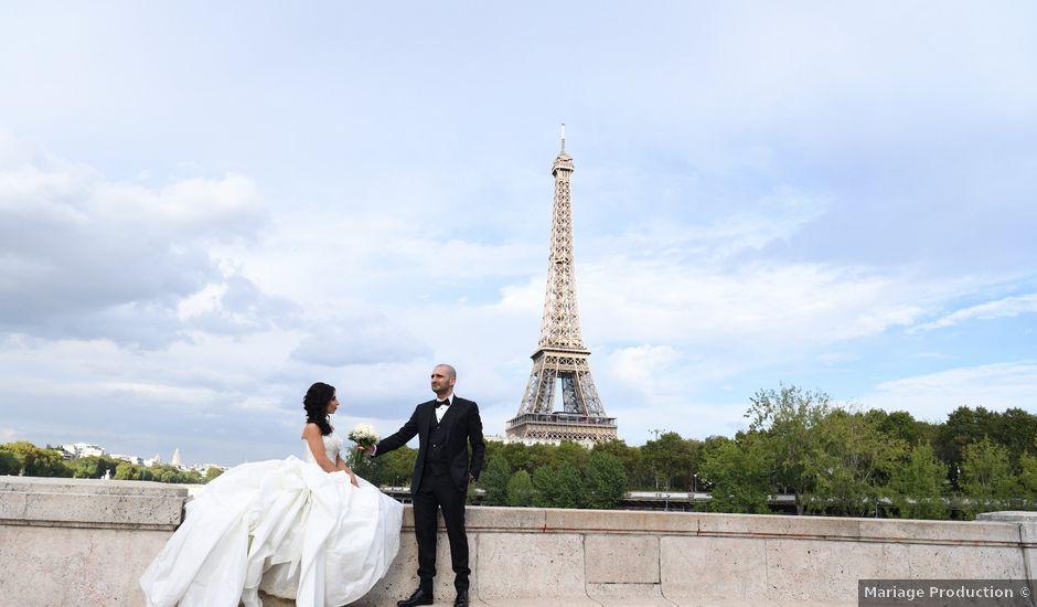 Le mariage de Lionel et Léna à Boulogne-Billancourt, Hauts-de-Seine