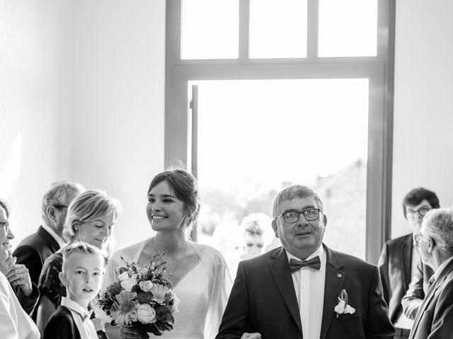 Le mariage de Nathan et Mathilde à Friaucourt, Somme 23