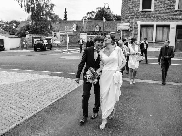 Le mariage de Nathan et Mathilde à Friaucourt, Somme 35