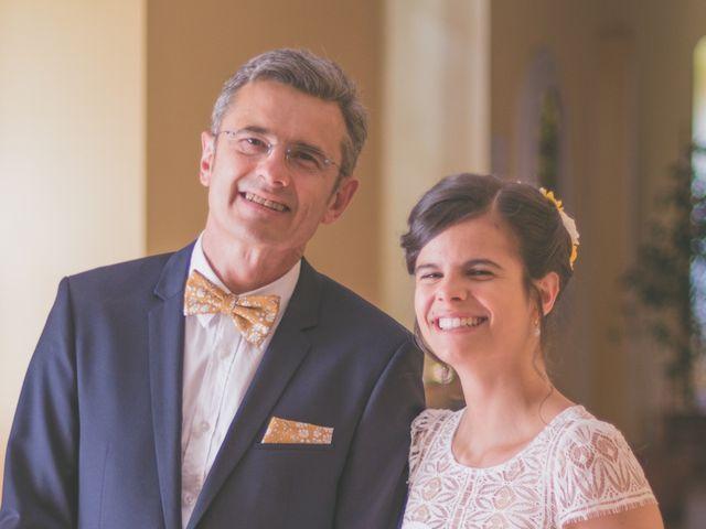 Le mariage de Vincent et Gaëlle à La Romieu, Gers 46