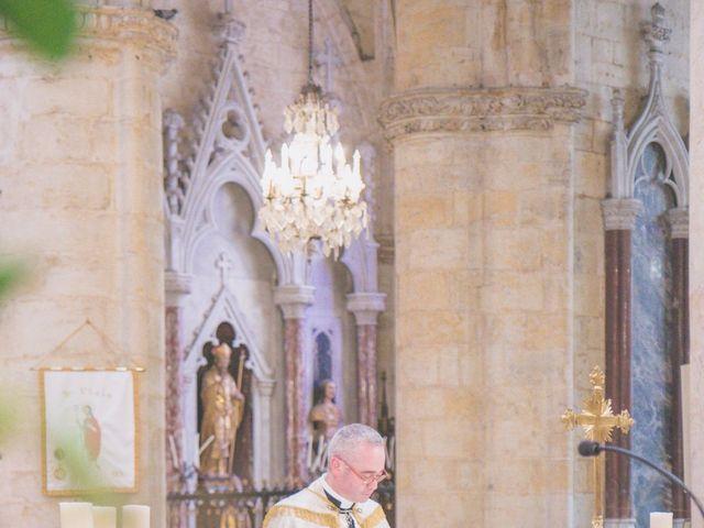 Le mariage de Vincent et Gaëlle à La Romieu, Gers 57