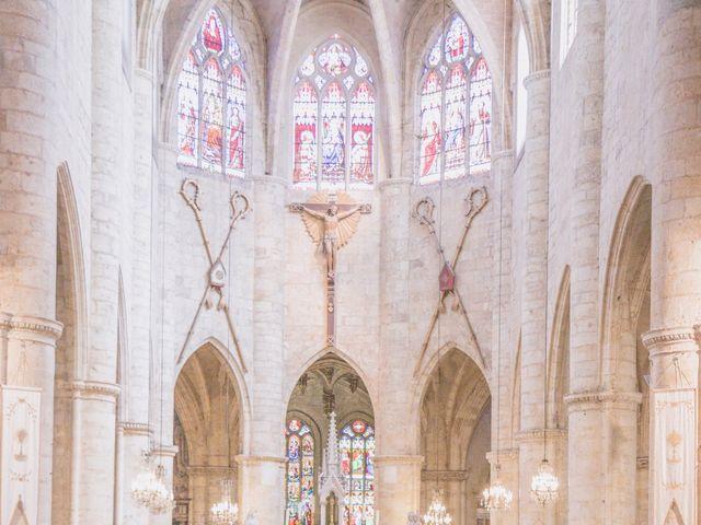 Le mariage de Vincent et Gaëlle à La Romieu, Gers 59