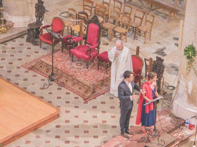 Le mariage de Vincent et Gaëlle à La Romieu, Gers 61