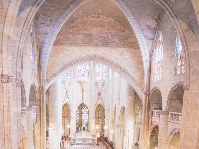 Le mariage de Vincent et Gaëlle à La Romieu, Gers 65