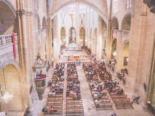 Le mariage de Vincent et Gaëlle à La Romieu, Gers 66