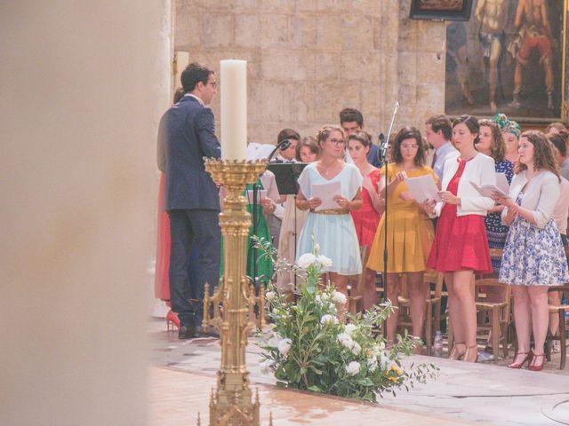 Le mariage de Vincent et Gaëlle à La Romieu, Gers 74
