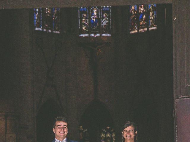 Le mariage de Vincent et Gaëlle à La Romieu, Gers 77