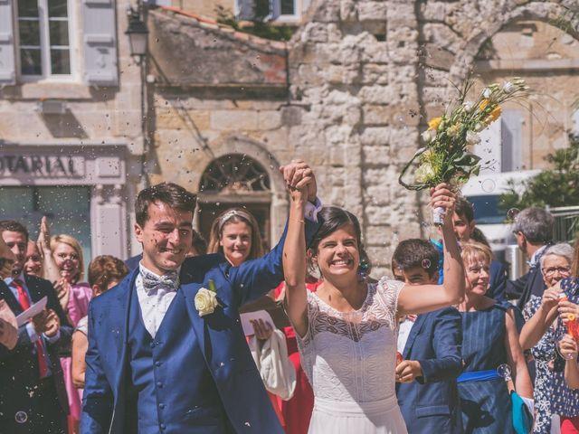 Le mariage de Vincent et Gaëlle à La Romieu, Gers 79