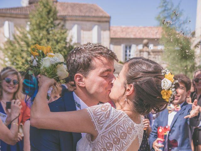 Le mariage de Vincent et Gaëlle à La Romieu, Gers 80