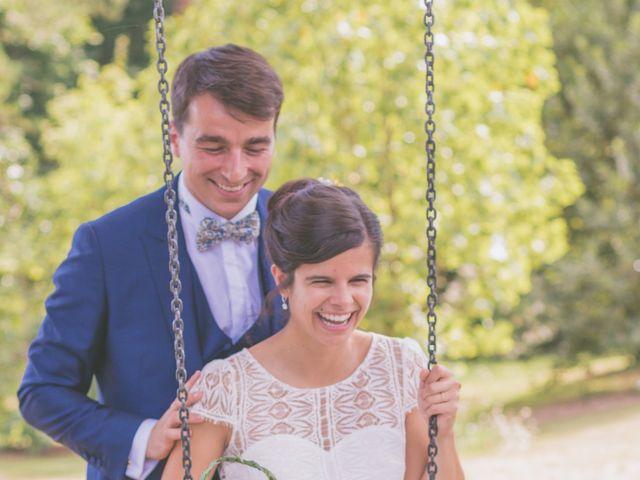Le mariage de Vincent et Gaëlle à La Romieu, Gers 84