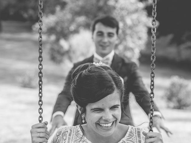 Le mariage de Vincent et Gaëlle à La Romieu, Gers 85