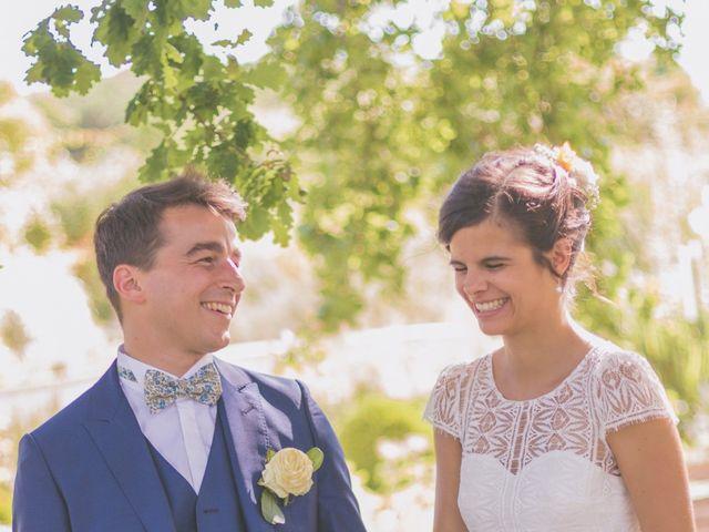 Le mariage de Vincent et Gaëlle à La Romieu, Gers 94