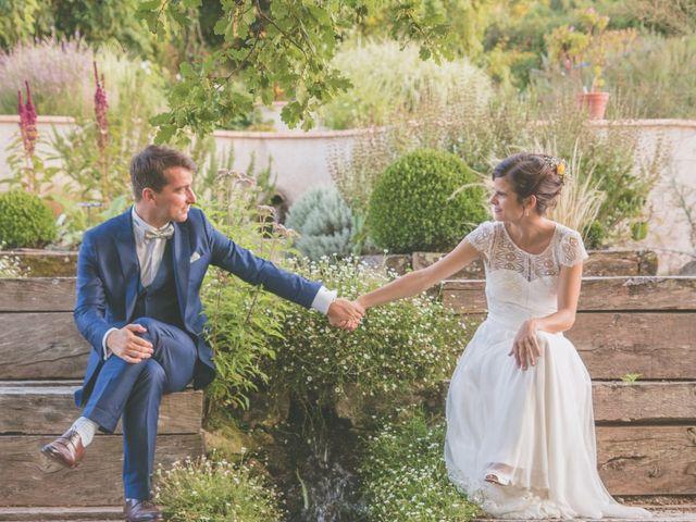 Le mariage de Vincent et Gaëlle à La Romieu, Gers 192