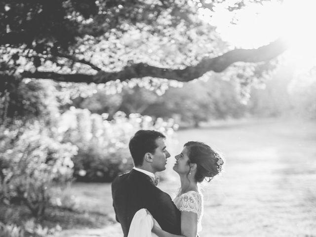 Le mariage de Vincent et Gaëlle à La Romieu, Gers 201