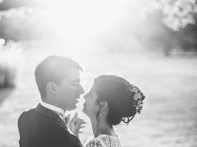 Le mariage de Vincent et Gaëlle à La Romieu, Gers 202