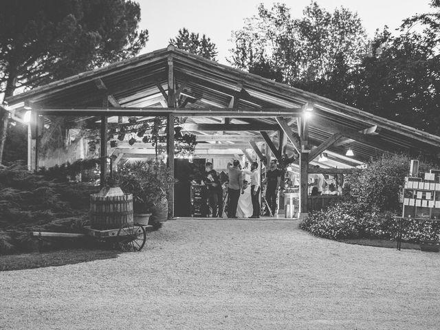 Le mariage de Vincent et Gaëlle à La Romieu, Gers 221