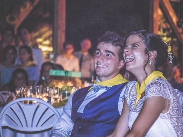 Le mariage de Vincent et Gaëlle à La Romieu, Gers 234
