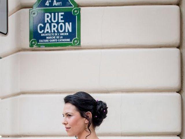 Le mariage de Julie et François  à Paris, Paris 6