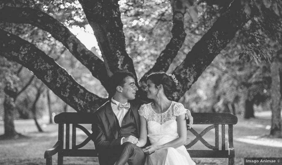 Le mariage de Vincent et Gaëlle à La Romieu, Gers