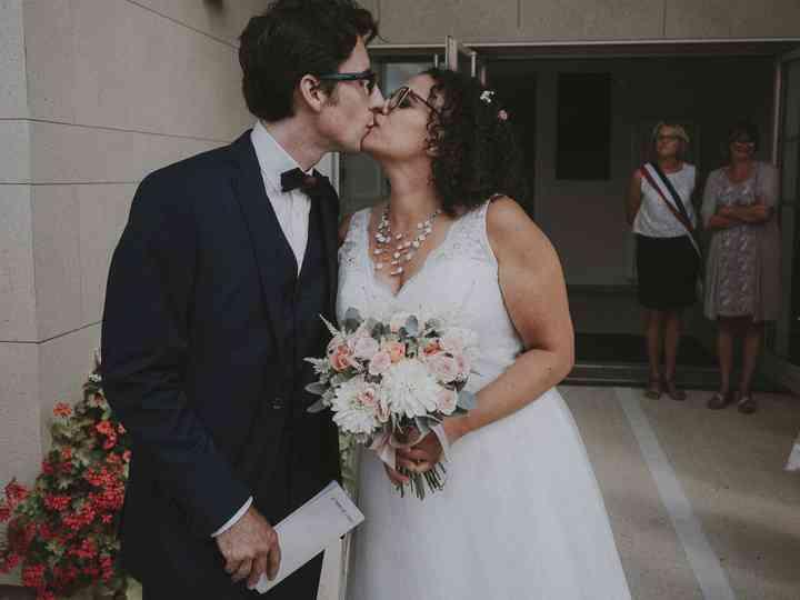 Le mariage de Gabrielle et Romain