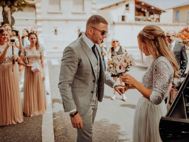 Le mariage de Victor et Pauline à Miribel, Ain 13
