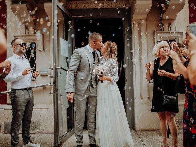 Le mariage de Victor et Pauline à Miribel, Ain 17