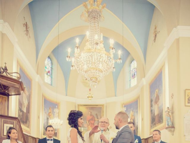 Le mariage de Romain et Célia à Montagnole, Savoie 17