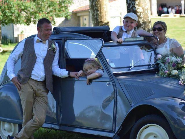 Le mariage de Eric et Clarisse à Segonzac, Charente 1