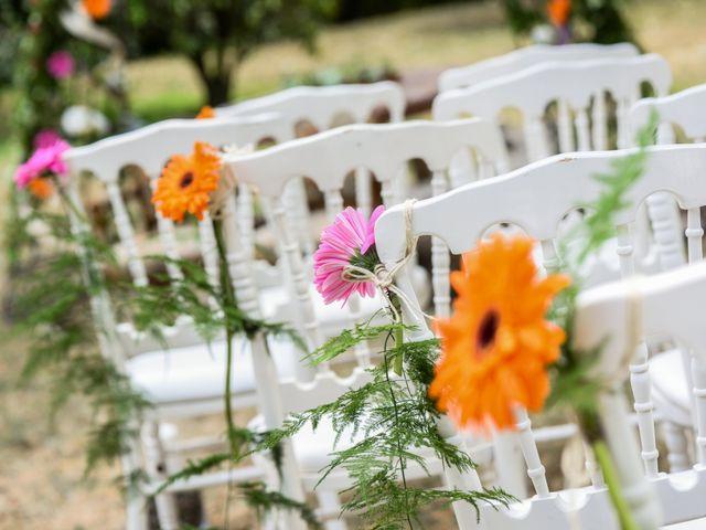 Le mariage de Sylvain et Anaïs à Roiffieux, Ardèche 10