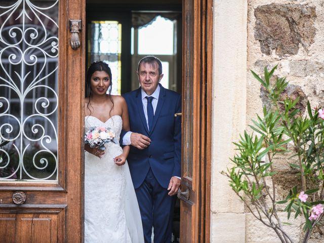 Le mariage de Sylvain et Anaïs à Roiffieux, Ardèche 18