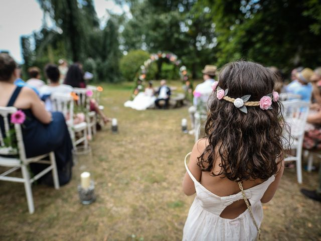 Le mariage de Sylvain et Anaïs à Roiffieux, Ardèche 20