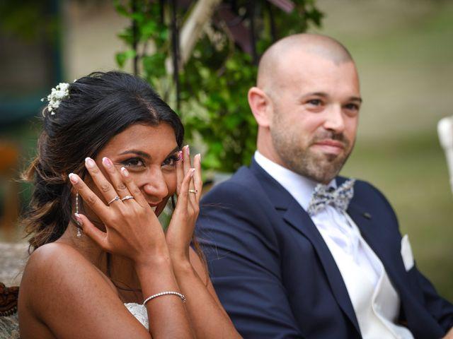 Le mariage de Sylvain et Anaïs à Roiffieux, Ardèche 25