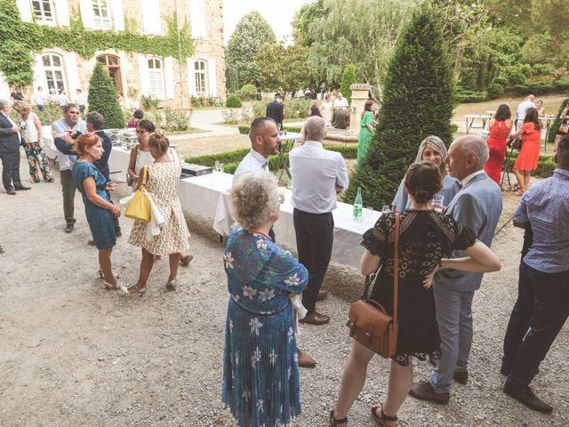 Le mariage de Sylvain et Anaïs à Roiffieux, Ardèche 51