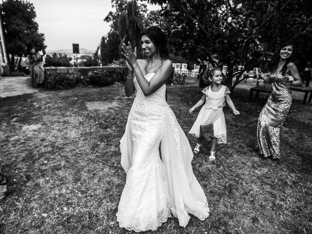 Le mariage de Sylvain et Anaïs à Roiffieux, Ardèche 58