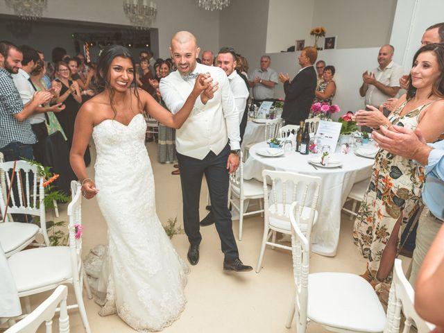 Le mariage de Sylvain et Anaïs à Roiffieux, Ardèche 62