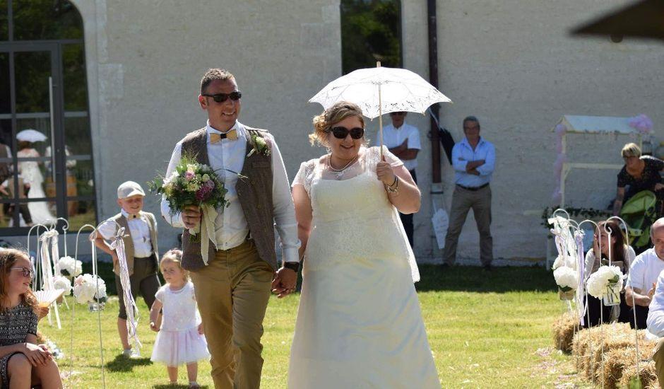 Le mariage de Eric et Clarisse à Segonzac, Charente