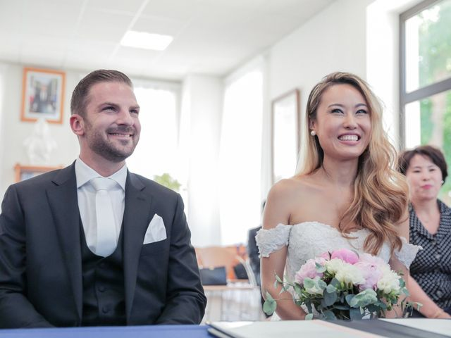Le mariage de Mathieu et Melissa à Gouvieux, Oise 15