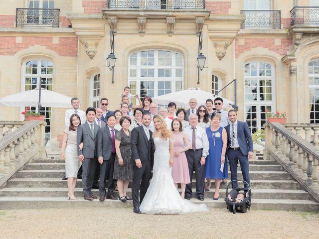 Le mariage de Mathieu et Melissa à Gouvieux, Oise 89