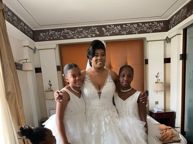 Le mariage de Nseka et Garlonne à Fleury-Mérogis, Essonne 4