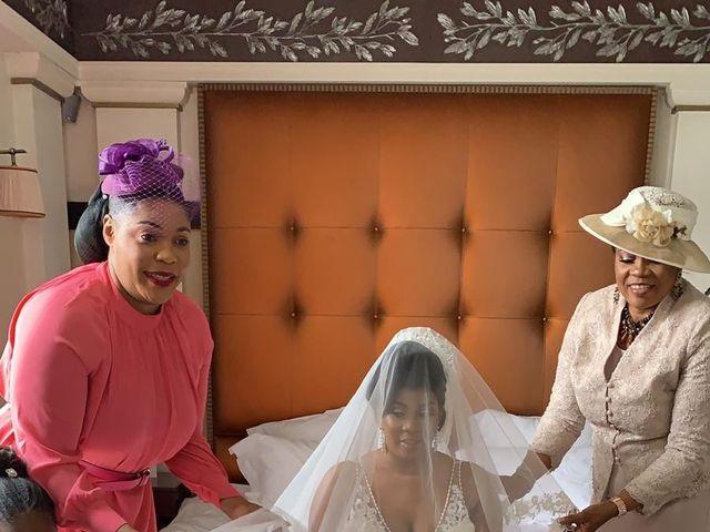 Le mariage de Nseka et Garlonne à Fleury-Mérogis, Essonne 10