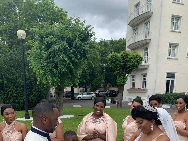 Le mariage de Nseka et Garlonne à Fleury-Mérogis, Essonne 17