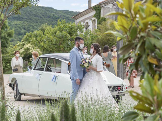 Le mariage de Jonathan et Elodie à Lyas, Ardèche 1